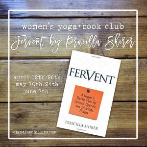 yoga+study: fervent by pracilla shirer